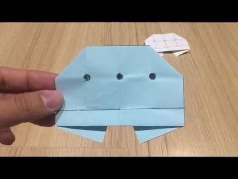พับ UFO Easy DIY How to Fold Paper Origami UFO พับยูปเอฟโอกระดาษ (น่ารักสุดๆ)