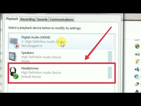 How To Fix Headphones Problem Solve & Headphone Sound Not Working In Computer | Pc | Laptop