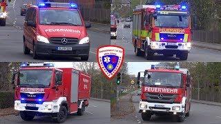 🚨 ELW + neues LF 20 KatS-TH + Ausbildungs-LF + TLF 4000 + SW-KatS Feuerwehr Gera-Liebschwitz