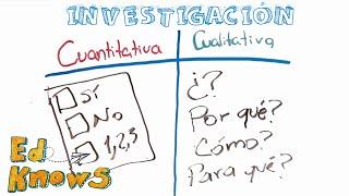 Investigación cualitativa y cuantitativa (para niños)