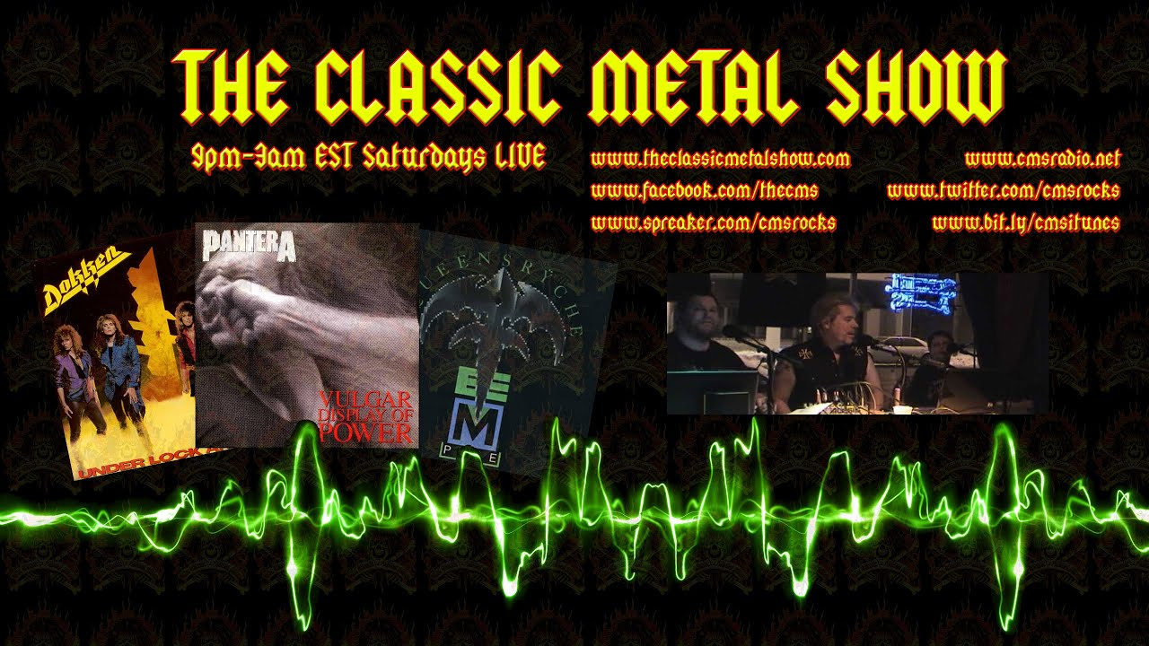 CMS HIGHLIGHT - Sister Bertha Bangers Runs Into THE CLASSIC METAL SHOW - 7 26 08