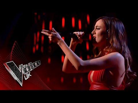 Clara Hurtado performs 'Alarm': The Knockouts   The Voice UK 2017
