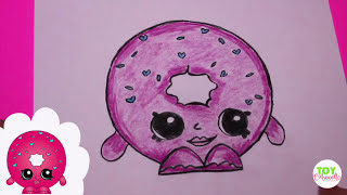 "How to Draw Shopkins Season 1 ""D"