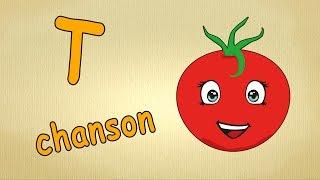 Chanson pour enfants- La lettre T - Apprendre l'alphabet en français