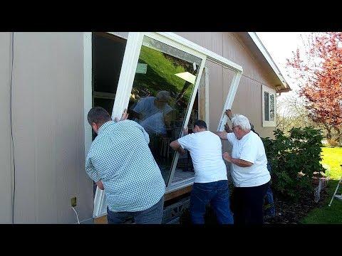 Large Sliding Glass Doors in Melissa