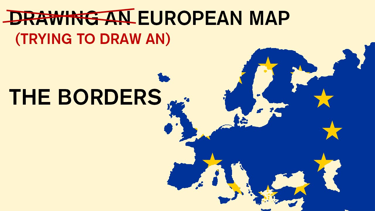 Drawing an european map from my memory the borders 2 youtube drawing an european map from my memory the borders 2 gumiabroncs Image collections