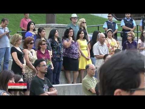 Iraqioon TV Program Sep 8, 2012.Kurdish Heritage Festival in Toronto