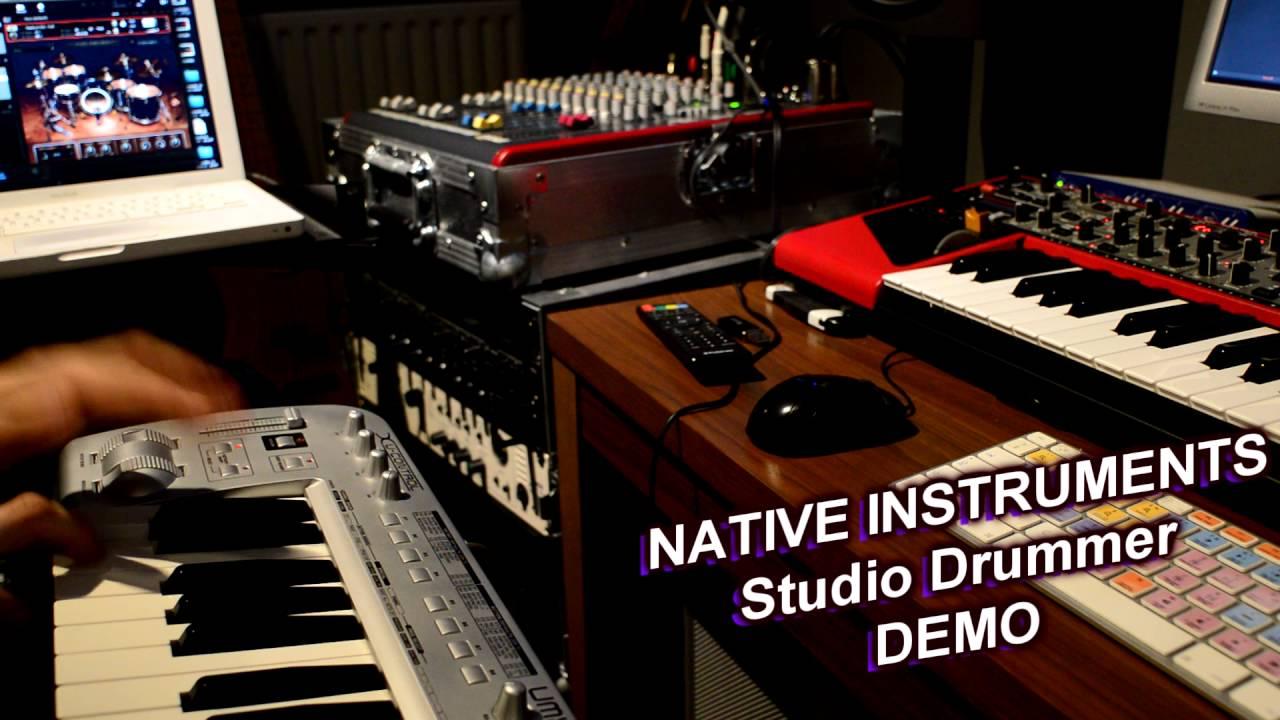 native instruments studio drummer tutorial