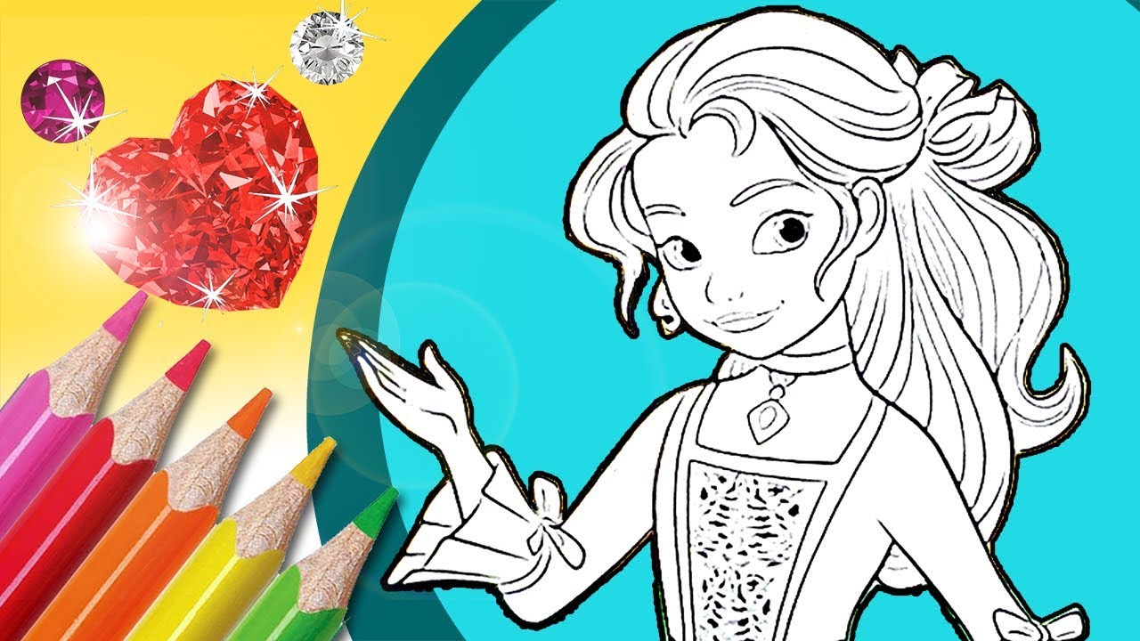 Princess Isabel Coloring Pages Elena Of Avalor Colouring Youtube