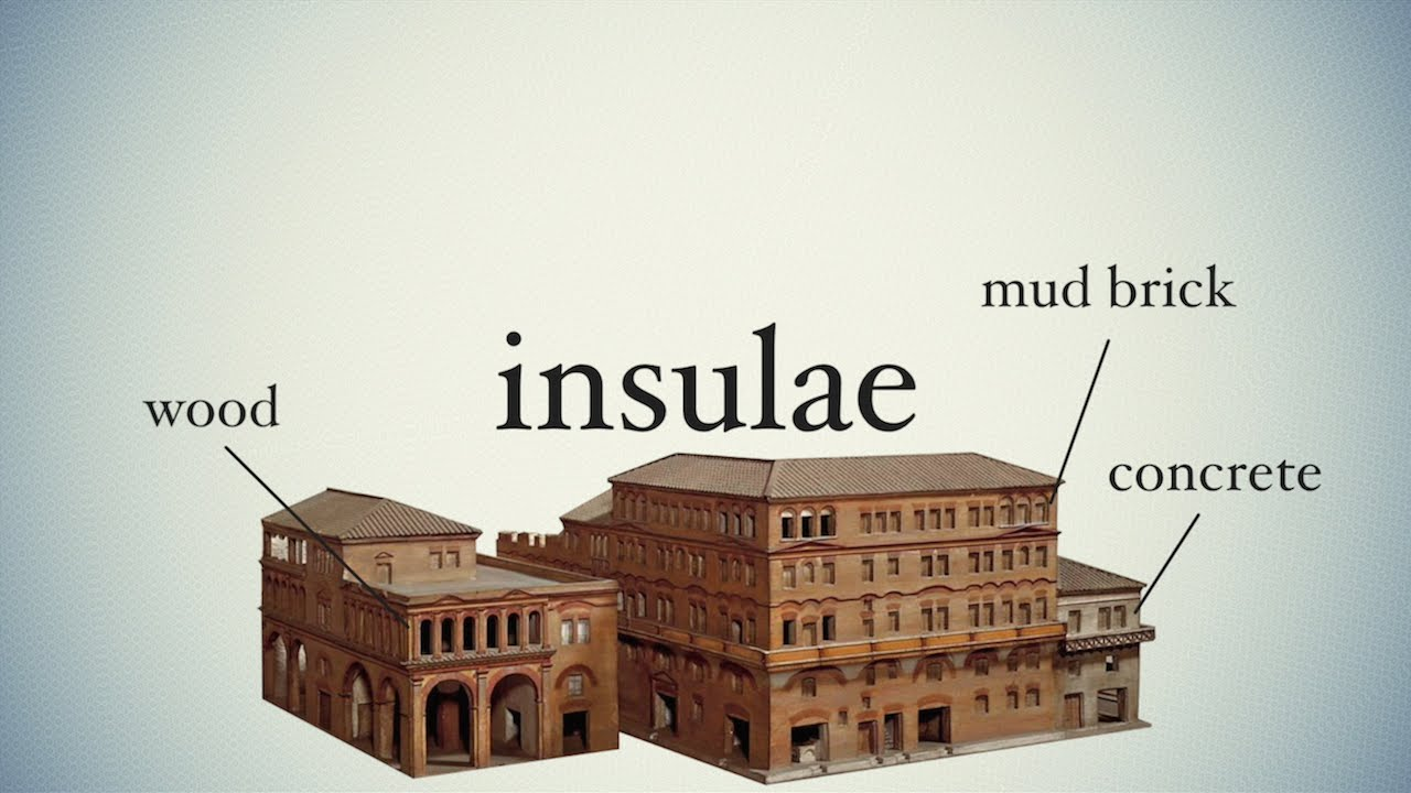 Insulae Ancient Slums Youtube