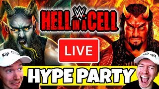 🔴 HELL IN A CELL 2018 LIVE HYPE PARTY!