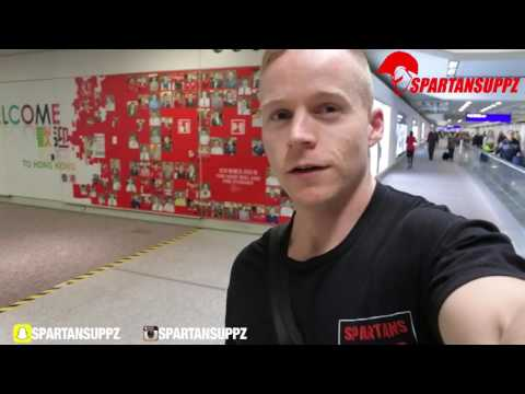 Spartansuppz USA Tour Day 1 | Melbourne - Hong Kong & Los Angeles Day In The Life
