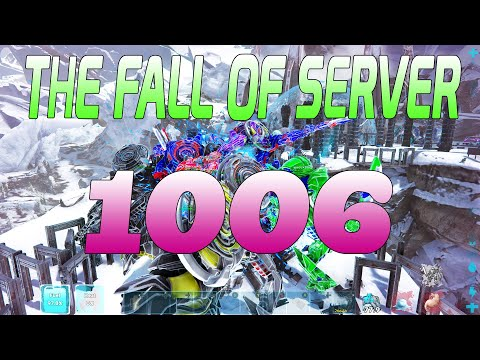 OFFICIAL SERVER 1006 SERVER WIPE - ARK MEGA TRIBE RAID - 1050 Vs 1006
