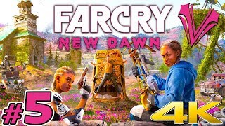 Far Cry New Dawn (05) - Porywam Cysternę! | Vertez | PC 4K 60FPS