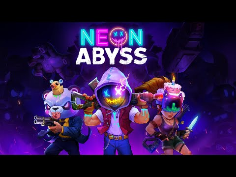 Neon Abyss!! the first Epic Games Game I got... Lets Play It!! |