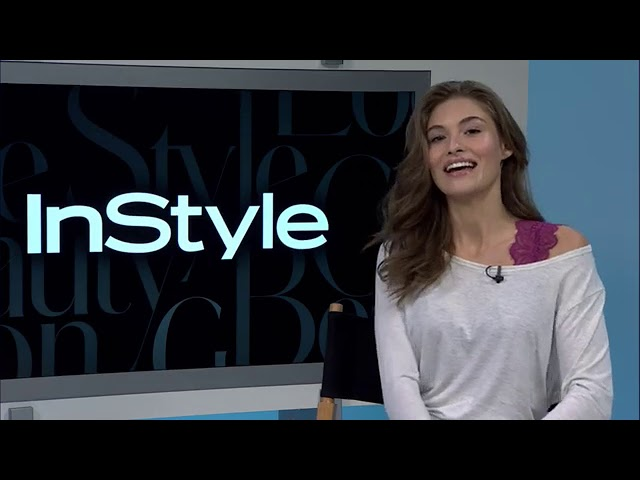 Grace Elizabeth interview in an Instyle Facebook live after being named the face of VS Pink
