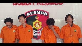 4 Preman Tengik Pasar Tanah Abang Diciduk Resmob Polda Metro