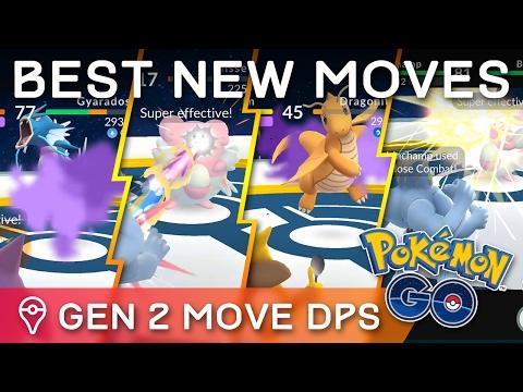BEST *NEW* MOVESETS FOR ALL GEN 1 & GEN 2 POKÉMON IN POKÉMON GO