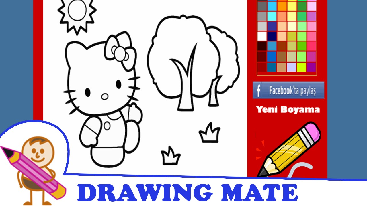 Hello Kitty Coloring Pages Coloring Book Kolorowanki Malowanki