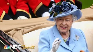 Queen Elizabeth II leads royal procession at 2019 Royal Ascot | NBC Sports
