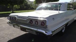 1963 Chevrolet Impala 327 M20 4 Speed Serial #00004