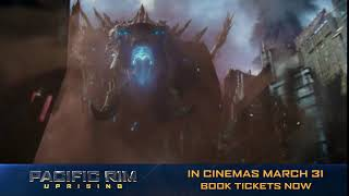 Prepare for the Mega-Kaiju. #PacificRimUprising
