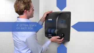 SofPull® Mechanical Towel Dispenser- Installation Instructions Thumbnail