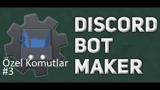 Basit Tokat Atma Komutu | Discord Bot Maker Özel Komutlar Komutları #3