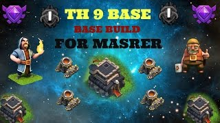 (Clash Of Clans) - TH 9 Defense BUILD for MASTER LEAGUE