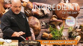 Vegan MUSHROOM Soup  Chef Anthony Bonett   Cooking for Baby &amp Me