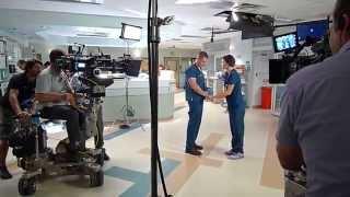 Brendan Fehr - Behind the Scenes of The Night Shift (TV Series)