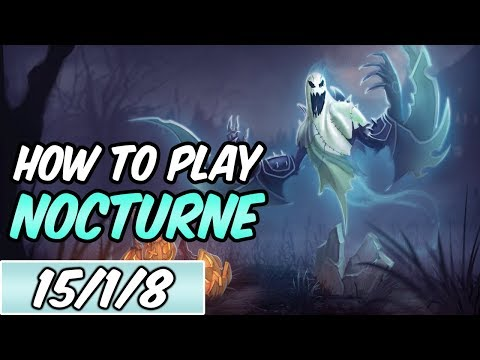 HOW TO PLAY NOCTURNE | Build & Runes | Diamond Commentary | Haunting Nocturne | League of Legends
