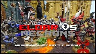 Eldar Vs Necrons: Warhammer 40K Battle Report - Mission Two