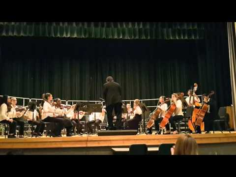 Hungary Creek Middle School Orchestra March 2016