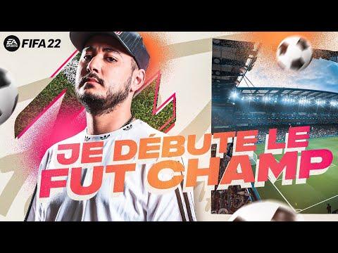 JE DÉBUTE LE FUT CHAMP ! (Fifa 22)