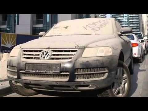Top 10 Abandoned Cars in Dubai 2015
