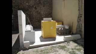 Construction Du Garage, Le Riou, Clumanc