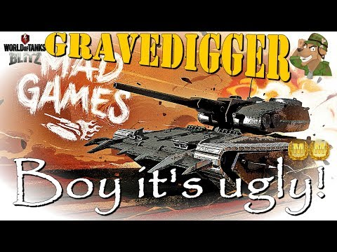 Gravedigger Review and Mastery | Mad Games | WoT Blitz [2018]