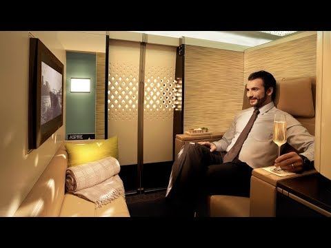 Thumbnail: Etihad A380 First Class Apartment London to Abu Dhabi: MY BEST FLIGHT EVER!