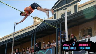 Bunbury Street Pole Vault (Event 2020) - FIREY Productions