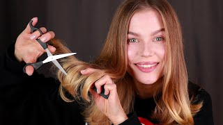 [ASMR] Cutting My Own Hair