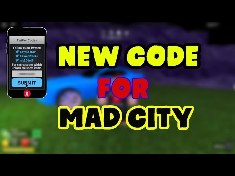 New Code Mad City Roblox Roblox Yt - new code mad city roblox roblox yt