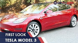 Tesla Model 3 First Look: India Exclusive | NDTV carandbike