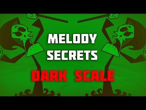 ⚠ MELODY SECRETS:  The Super Dark Trap Scale 💀👻