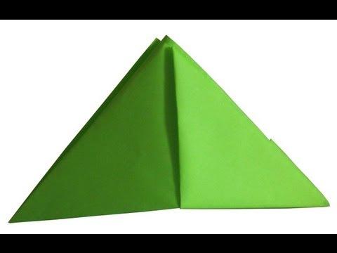 Шапка оригами