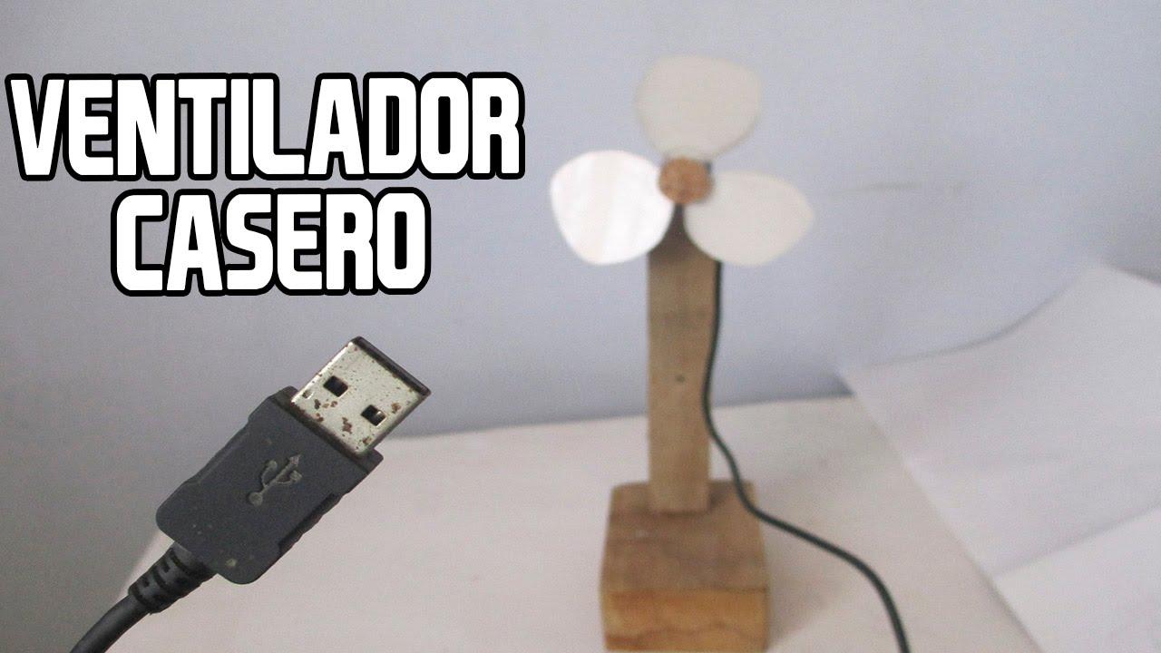 Como hacer un ventilador casero con cable usb homemade fan - Como hacer membrillo casero ...