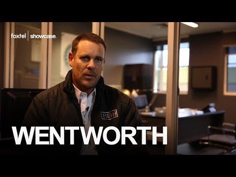 Wentworth Season 2: Meet Fletch Aaron Jeffery
