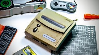 Restoring Extremely Yellowed Nintendo SNES Jr