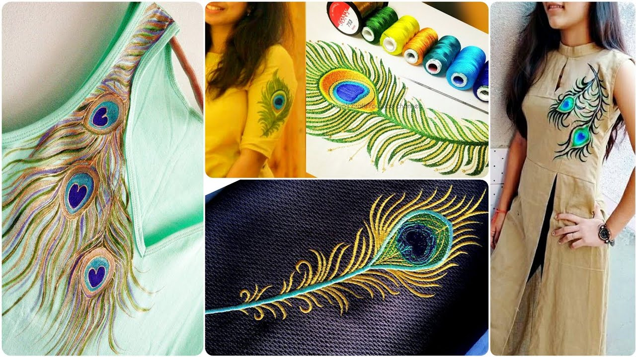 Simple Stylish Peacock Feathers Embroidery Patterns For Blouses Kurtis And Frocks Youtube,Design Your Own Phone Case Template