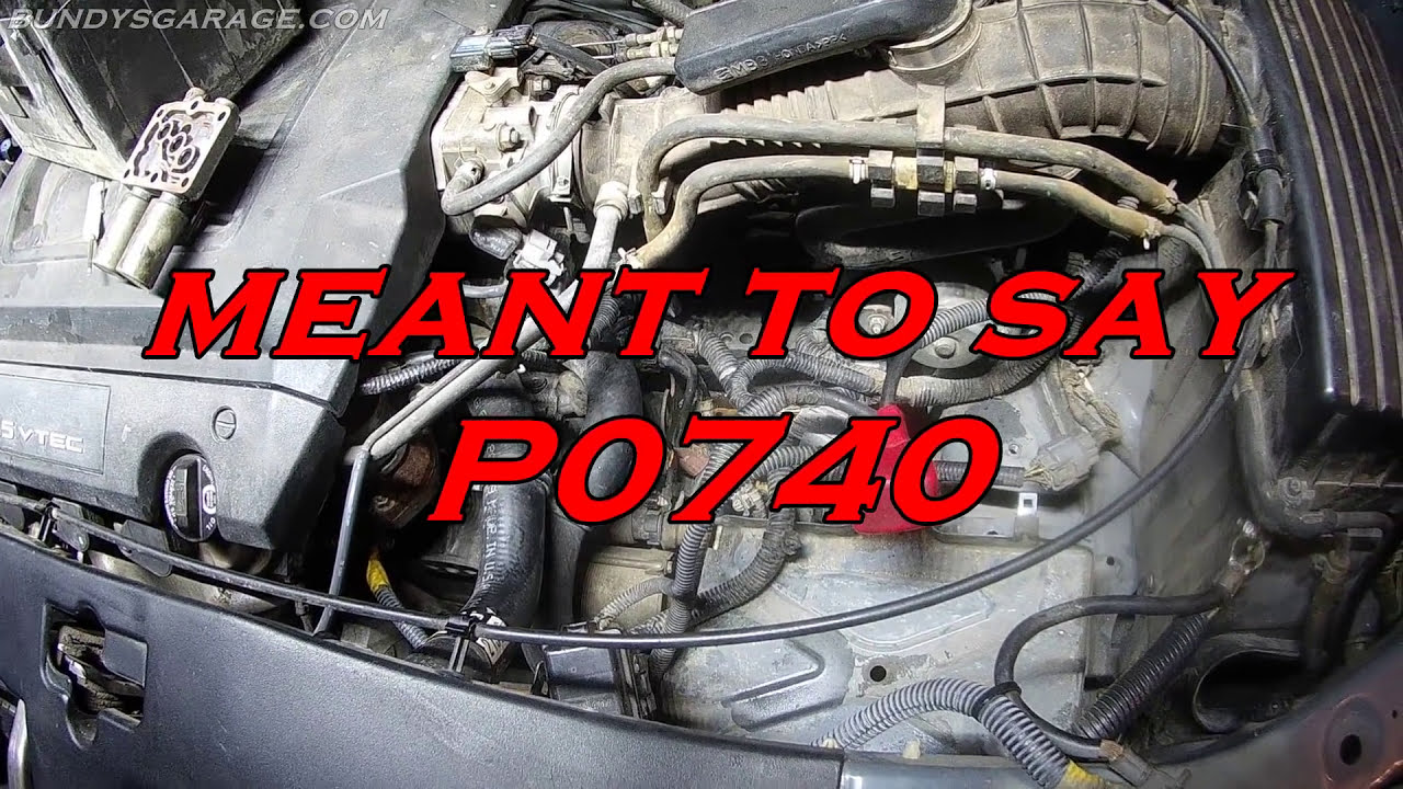 P0740 Honda Acura Fix - Odyssey Accord Solved Fixed - Dont Rebuild Your  Transmission - 28250-P6h-024  Bundysgarage 07:24 HD